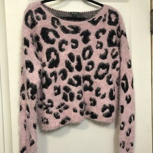 Wild Fable Animal Pattern Sweater
